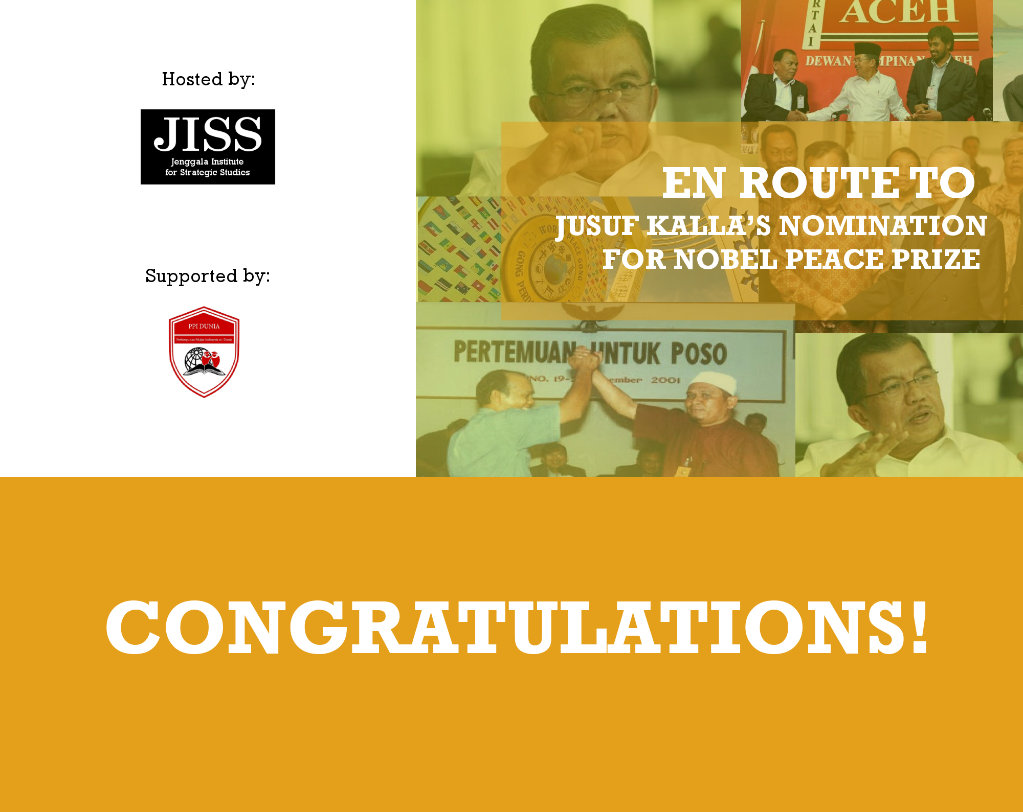press release  best essays selected to celebrate peacemaking a la  press release  best essays selected to celebrate peacemaking a la jusuf  kalla  jenggala institute for strategic studies